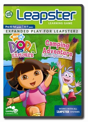 Leapfrog Leapster Learning Game Dora'S Camping Adventure