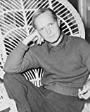 51hFb1qeGSL. SL160  1959 photo Truman Capote , seated in a chair, resting head on his right hand, holding cigarette in h