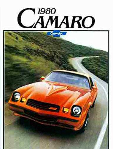 FULL COLOR 1980 CHEVROLET CAMARO BEAUTIFUL DEALERSHIP SALES BROCHURE - ADVERTISMENT Includes Berlinetta - Z28 - Hugger - RS Rally Sport and Sport Coupe - CHEVY 80