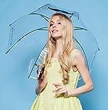 Beard Auto-folding Clear Long Handle Umbrella Apollo Transparent Umbrella