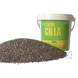 -Carb Chia Samen aus fairem Handel (250 g Probierpack)