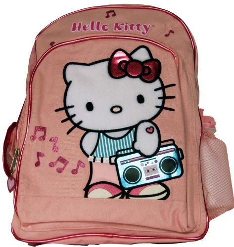 Sanrio Hello Kitty Backpack – Full size Kitty Music Time School Backpack