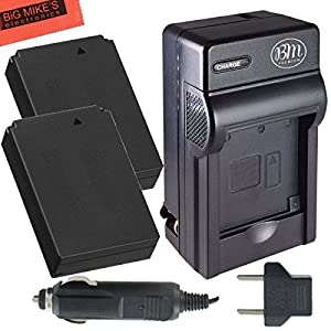 Pack Of 2 LP-E12 Batteries & Charger Kit for Canon Rebel SL1, EOS-M, EOS M2, Mirrorless Digital Camera + More!!