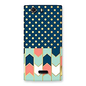 Special Pattern Pastal Back Case Cover for Canvas Nitro 2 E311