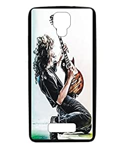 Techno Gadgets Back Cover for Gionee Pioneer P3S