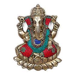 Collectible India God Ganesha Wall Hanging idol Hindu good Luck Success God Ganesh wall hangings Ganpati Home decoratives