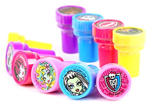 Mattel Monster High Self-Inking Stamps / Stampers Party Favors (10 Counts)