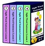 Sight Word Sentences Set 2 - Lessons 1-4: 4 Books in 1!
