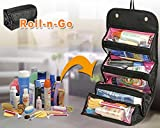 DFS's premium 4 IN 1 TRAVEL BUDDY ROLL N GO COSMETIC BAG ORGANISER -- 3 months warranty -- For Girls Ladies Women