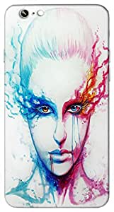 Timpax protective Armor Hard Bumper Back Case Cover. Multicolor printed on 3 Dimensional case with latest & finest graphic design art. Compatible with Apple iPhone 6 Design No : TDZ-24873