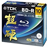 TDK Blu-ray Disc 10 Pack - BD-R 25GB 4X - Super Hard Coating Surface