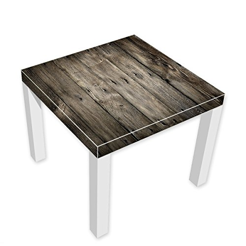 Designer-Tisch-Alte-Holzbretter-2x-traumhaftes-Design-schickes-Wohndesign-Beistelltisch-NEU-100IKTIS1045