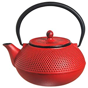 Star International 40oz Hobnail Cast Iron Teapot from New Star International