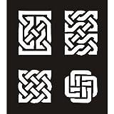 Snazaroo Face Paint Stencils Celtic Knots