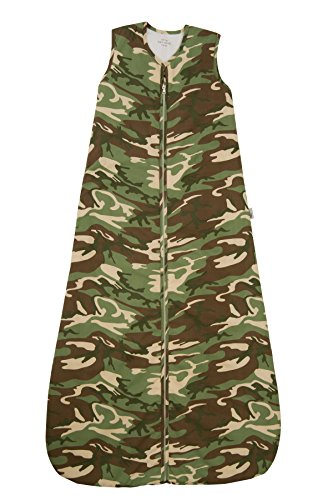 Children Sleeping Bag 2.5 Tog - Camouflage, 6-10 years/59inch