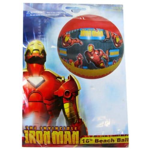 Marvel Comics Iron Man Beach Ball  16in (Assorted Designs)