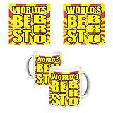 ToduGift Worlds best bro mug