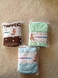 Kawaii Baby One-Size Snap Closure Pocket