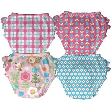 Iplay Ultimate Girls Swim Diaper Assorted Colors Size X-Large 24M (25-30Lbs), This Listing Is For Only 1 Swim Diaper****