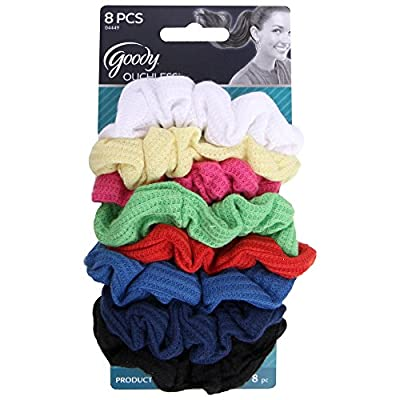 Goody Styling Essentials Ouchless Hair Scrunchies - 8 Count