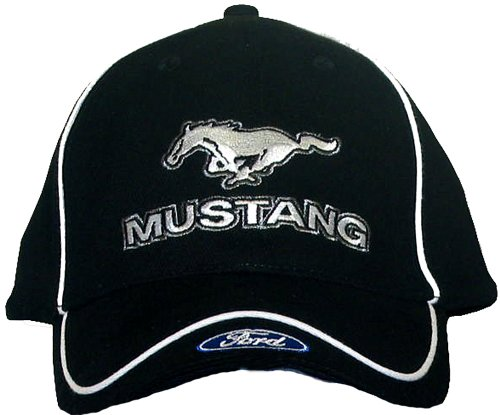 mustang-with-ford-logo-embroidered-hat-solid-black