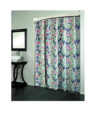 Beatrice Home Fashions Grenada Shower Curtain, Multi