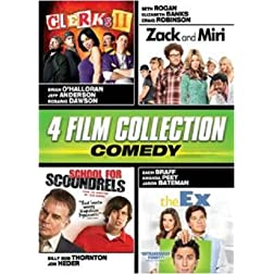 Comedy Quad (Clerks II, Zack & Miri, School for Scoundrels, The Ex)