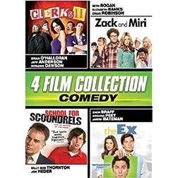 Comedy Quad (Clerks II, Zack & Miri, School for Scoundrels, The Ex)