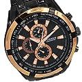 CURREN Luxury Black Stylish Unisex Men Sports Style Wrist Watch