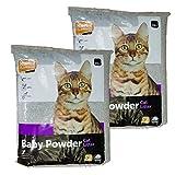 Pet Products - Katzenstreu Petplus mit Babypuderduft 2 x 15kg