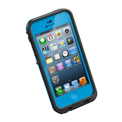 Lifeproof 1301-04 Fre Case for iPhone 5 - 1 Pack - Retail Packaging - Cyan