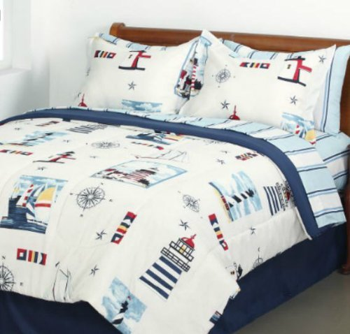 Nautical Bedding King: Nautical Bedding