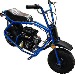 taotao atd80 80cc mini dirt bike blue. Black Bedroom Furniture Sets. Home Design Ideas