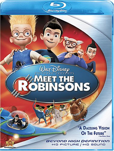 Cover art for  Meet the Robinsons [Blu-ray]