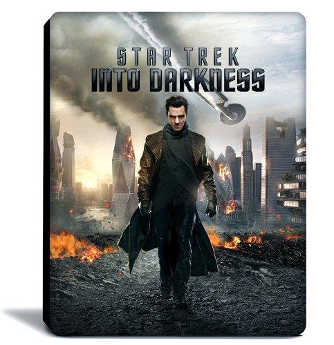【Amazon.co.jp限定】 スター・トレック イントゥ・ダークネス 3D&2Dブルーレイ (Amazon.co.jp 限定特典映像 DVD・コミックブック付き) スチールブック仕様 (3枚組) (完全数量限定) [Blu-ray]