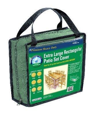 Schutzhülle für Terrassengarnitur von Gardman (extragroß, rechteckig) – Grün 34322 günstig