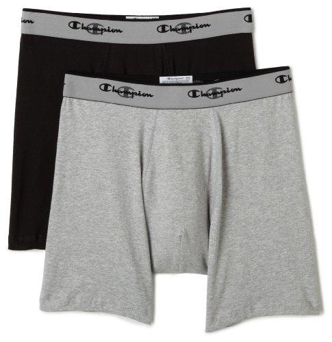 Champion Men's Double Dry Activefit 2-Pack Boxer Brief