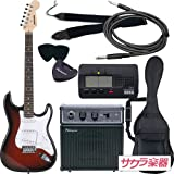 SELDER セルダー エレキギター ストラトキャスタータイプ サクラ楽器オリジナル ST-16/RDS 初心者入門ベーシックセット