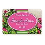 Beach Rose Scented Bar Hand Soap, Pack of 3 Bars, Cape Shore