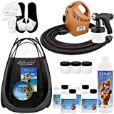 Complete Turbo Tan Deluxe (Model T75) Professional Sunless HVLP Turbine Spray Tanning System