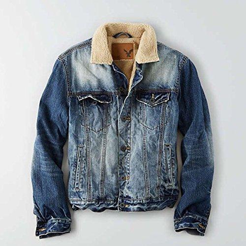 (アメリカンイーグル) AmericanEagle メンズ ジャケット AEO Lined Denim Jacket 並行輸入品