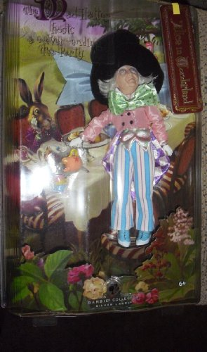 51hGG2uuzVL Buy  Barbie Collector 2007 SILVER LABEL   Alice in Wonderland   MAD HATTER