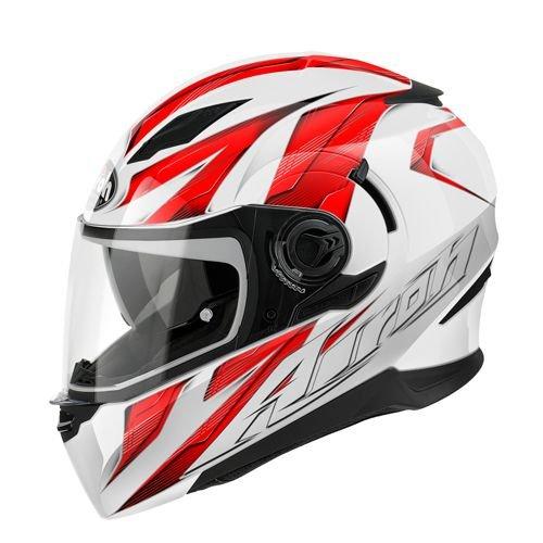 Airoh casque de moto mouvement mVST55 rouge