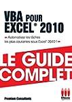 VBA pour Excel� 2010