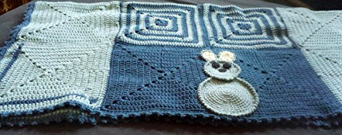 Hand Knitted Baby Blanket back-332370