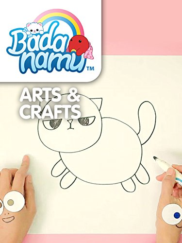 Badanamu Arts & Crafts EP9: Let's Draw Fat Cat Mat