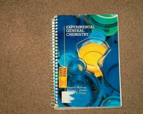 Experimental General Chemistry PDF