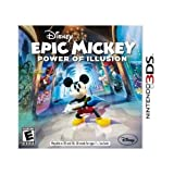 Take-Two 10555600 Disney Epic Mickey 2: Power of Illusion for Nintendo 3DS