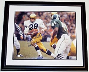 Rocky Bleier Autographed Hand Signed Notre Dame Fighting Irish 16x20 Photo - BLACK... by Real+Deal+Memorabilia