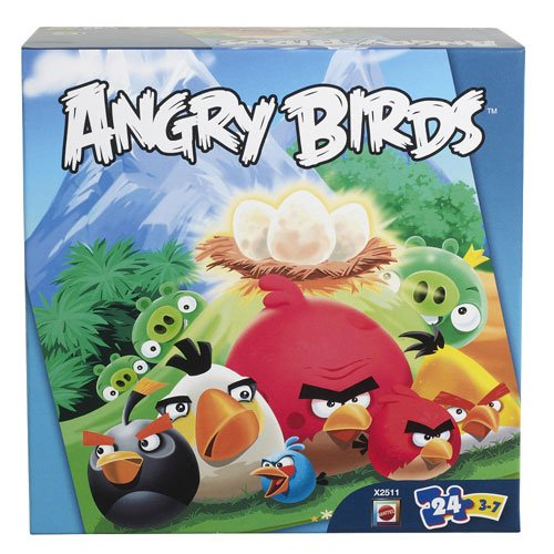 Angry Birds 24-Piece Jigsaw Puzzle - 1